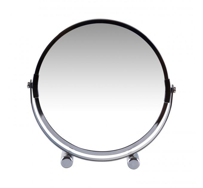 Зеркало косметическое d=17см Eco Fabric, хром (TRL1206-17) - фото № 2
