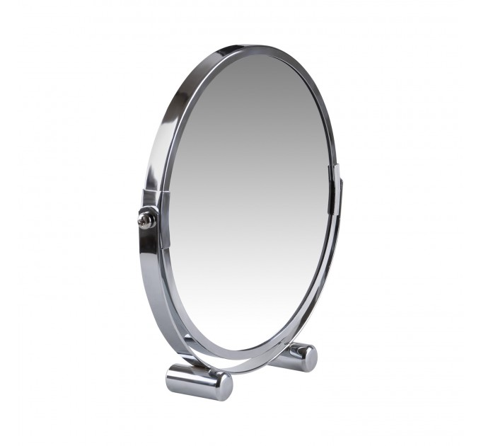 Зеркало косметическое d=17см Eco Fabric, хром (TRL1206-17) - фото № 3