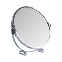 Зеркало косметическое d=17см Eco Fabric, хром (TRL1206-17)