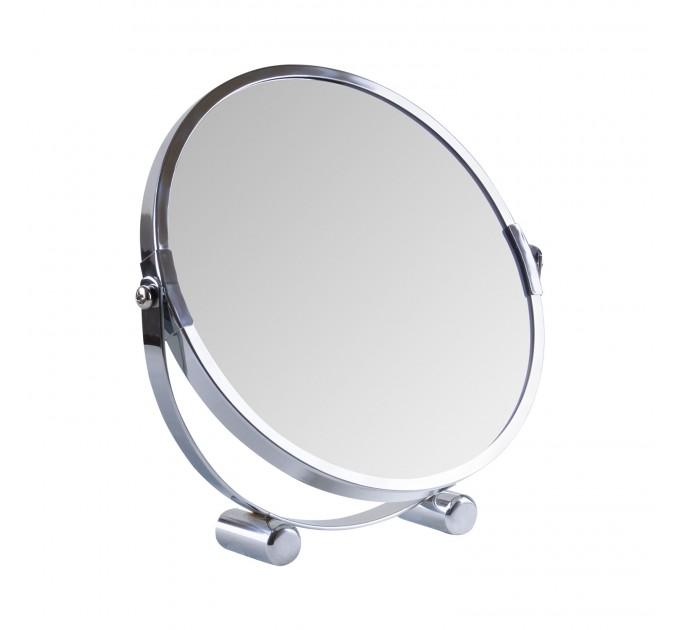 Зеркало косметическое d=17см Eco Fabric, хром (TRL1206-17) - фото № 1