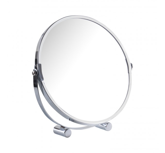 Зеркало косметическое d=20см Eco Fabric, хром (TRL1206-20) - фото № 1