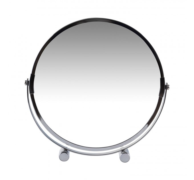 Зеркало косметическое d=20см Eco Fabric, хром (TRL1206-20) - фото № 2