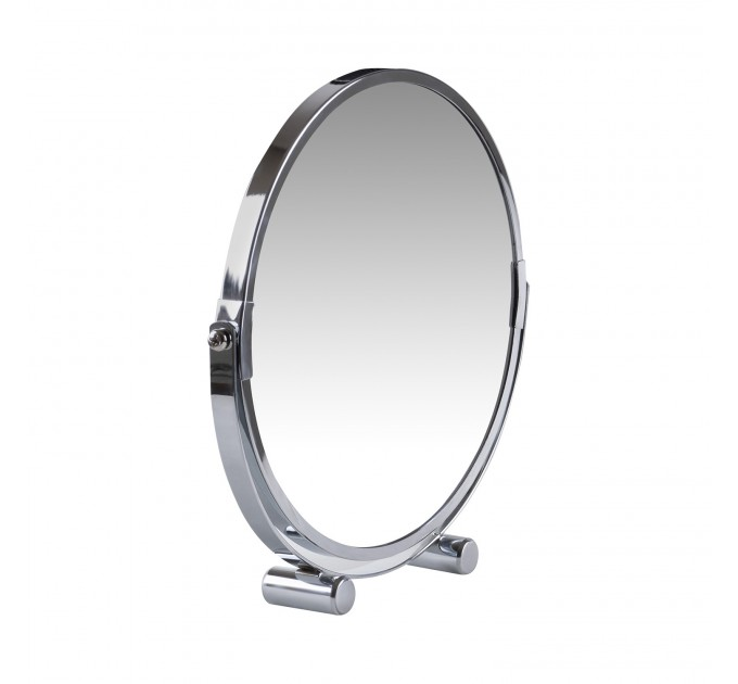 Зеркало косметическое d=20см Eco Fabric, хром (TRL1206-20) - фото № 3