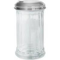 Дозатор для сахара Fackelmann BISTRO 14 см, стекло/сталь (46893)