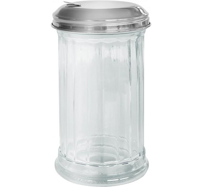 Дозатор для сахара Fackelmann BISTRO 14 см, стекло/сталь (46893) - фото № 1