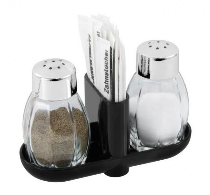 Набор для соли и перца Fackelmann D7*12 см, стекло/пластик (47318) - фото № 1