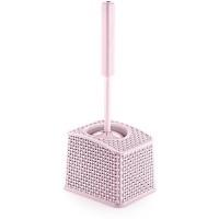 Ершик для унитаза OZ-ER PLastik HONEYCOMB, розовый (N011-X112)