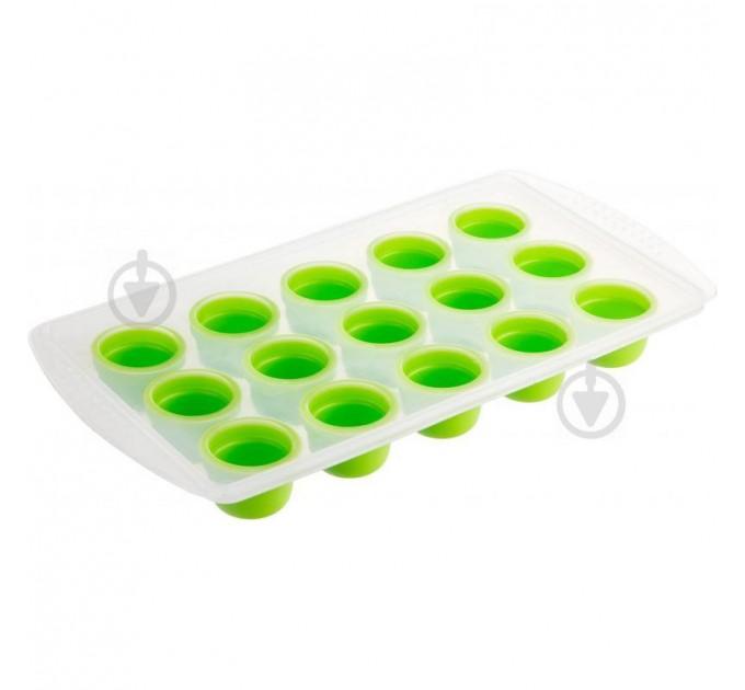 """Форма для льда Fackelmann """"шарики"""" 22*11*2 см, силикон/пластик (683263) - фото № 1"""