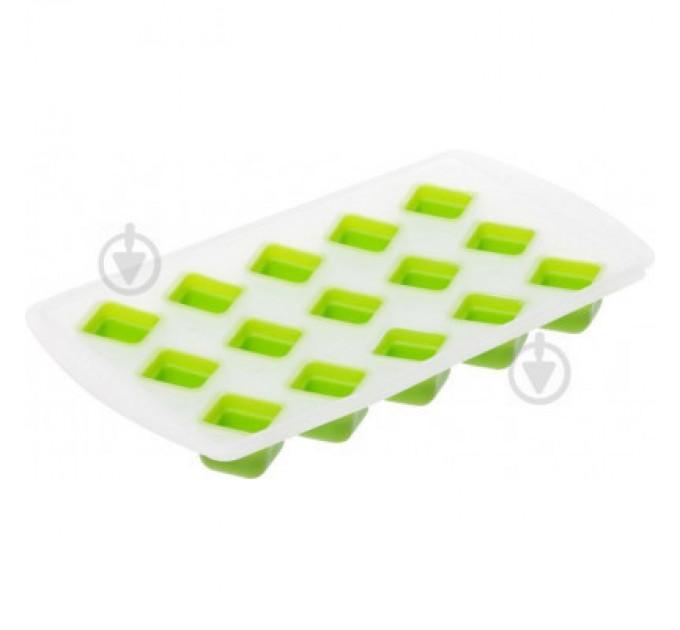 "Форма для льда Fackelmann ""кубики"" 22*11*2 см, силикон/пластик (683261)"