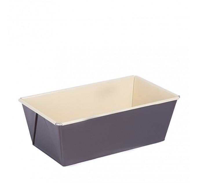 Форма для выпечки хлеба/кекса Fackelmann Choco-Vanilla 15 см с антипригарным покрытием, сталь (7301) - фото № 1