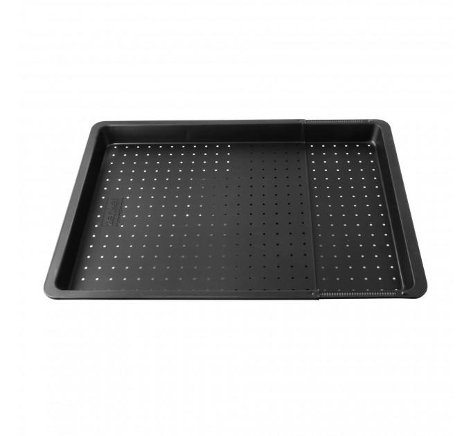 Лист для выпечки BLACK-METALLIC роздвижной 36.5-33.5 см с антипригарным покрытием, сталь (6539) - фото № 1