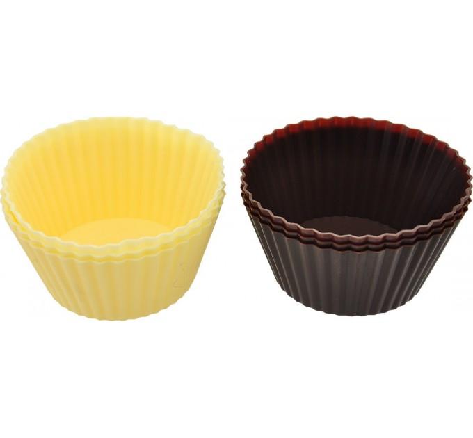 Формы для пирожных Fackelmann D7 см, 6шт, силикон (43548) - фото № 1