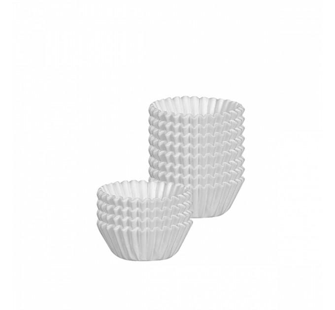 Форма бумажная Tescoma DELICIA D6см 100шт, белый (630630) - фото № 1