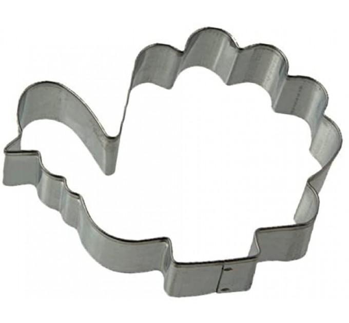 """Форма для вырезания печенья Fackelmann """"индюк"""" 6*8*1.7 см, сталь (7786) - фото № 1"""
