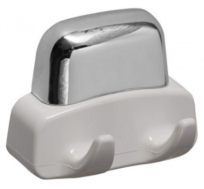 Вешалка для полотенец 3 крючка Prima Nova, серебро (24055)
