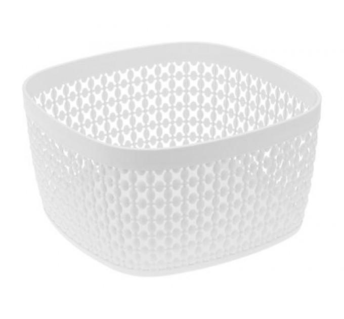Корзина для хлеба ПИРУЛА IDEA, белый (М1219Б) - фото № 1