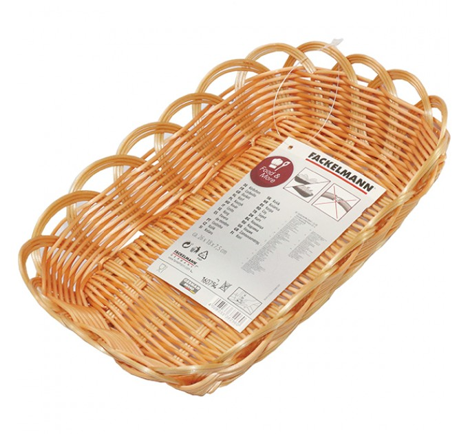 Корзина для хлеба Fackelmann 25.5*18*7.5 см, пластик (38296)