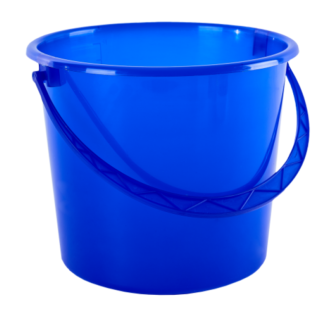 Ведро хозяйственное Алеана 8л, синий (122008) - фото № 1