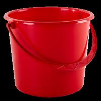 Ведро хозяйственное Алеана 18л, красный (122018)
