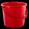 Ведро хозяйственное Алеана 8л, красный (122008)