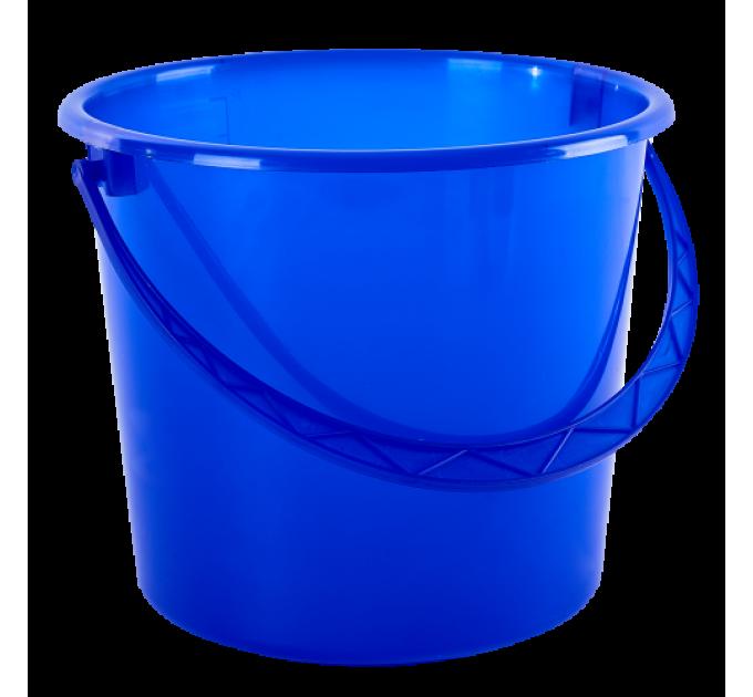 Ведро хозяйственное Алеана 14л, синий (122014) - фото № 1