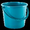 Ведро хозяйственное Алеана 5л, бирюзовый (122005)