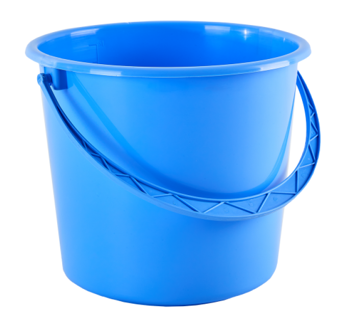 Ведро хозяйственное Алеана 5л, голубой (122005) - фото № 1