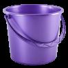 Ведро хозяйственное Алеана 14л, фиолетовый перламутр (122014)