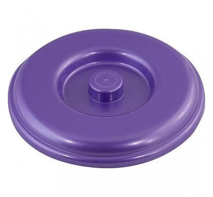 Крышка для ведра Алеана 14л, фиолетовый перламутр (122034)