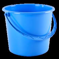 Ведро хозяйственное Алеана 10л, голубой (122010)