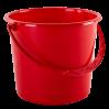 Ведро хозяйственное Алеана 14л, красный (122014)