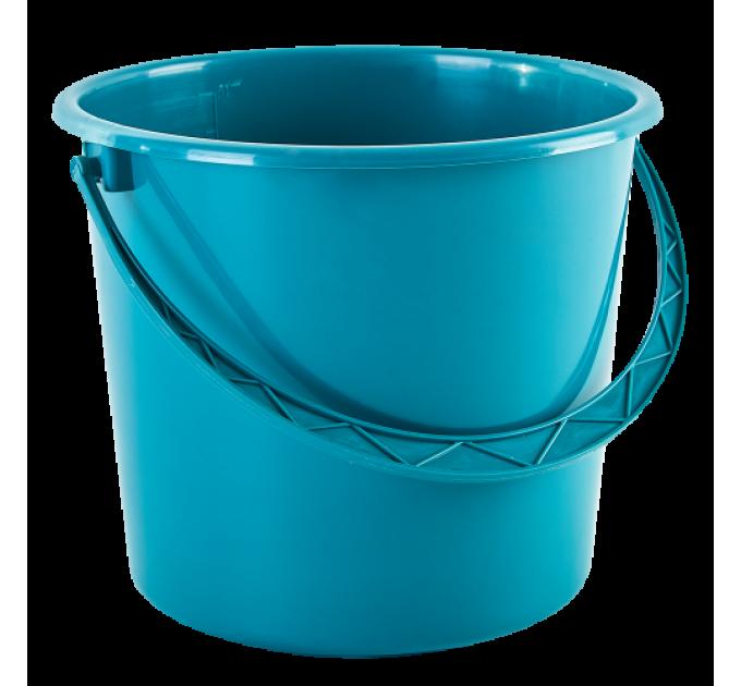 Ведро хозяйственное Алеана 18л, бирюзовый (122018) - фото № 1
