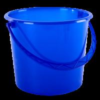 Ведро хозяйственное Алеана 10л, синий (122010)