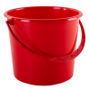 Ведро хозяйственное Алеана 5л, красный (122005)