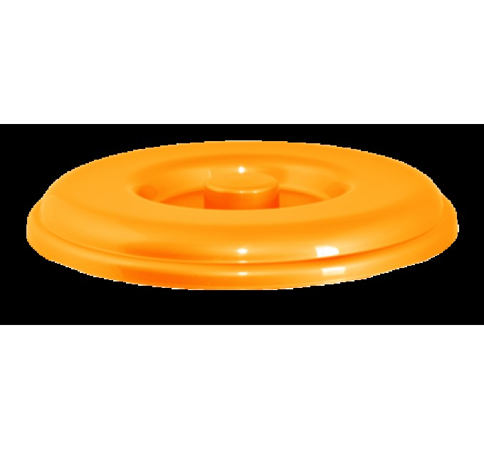 Крышка для ведра Алеана 18л, светло-оранжевый (122038)