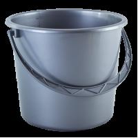 Ведро хозяйственное Алеана 10л, серый (122010)