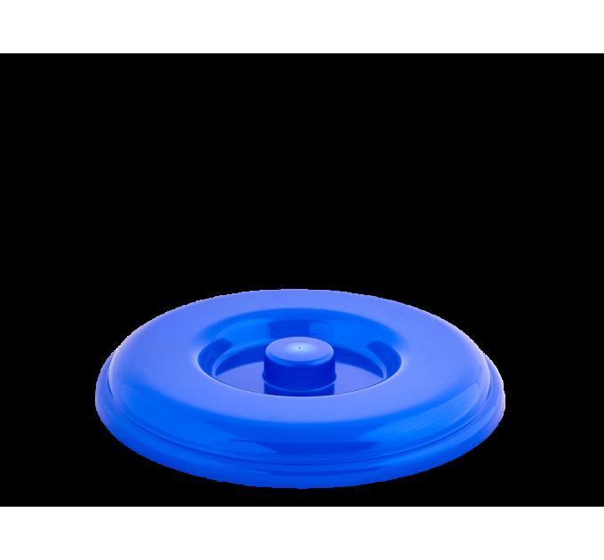 Крышка для ведра Алеана 14л, синий (122034) - фото № 1