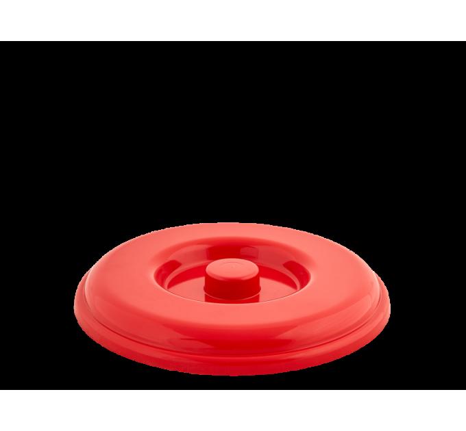 Крышка для ведра Алеана 8л, красный (122032) - фото № 1