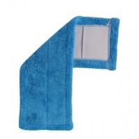 Насадка для швабры Dream Land из микрофибры 42см, синяя (SUN1902 blue)