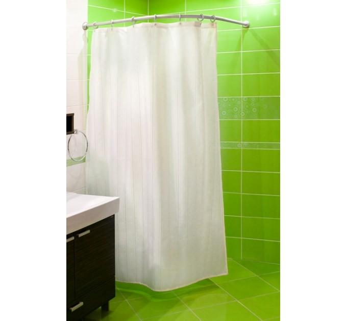 Карниз для ванной дуговой 90x90 см Probath, белый (w6100) - фото № 2
