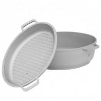 Гусятница и крышка-сковорода БИОЛ 4л (G401)