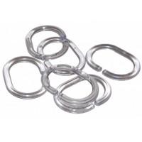 Кольца для шторки 12 шт Probath, прозрачные (w2000)