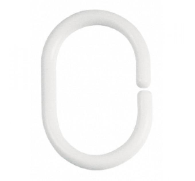 Кольцо для карниза Candia 05401, белое (C6013) - фото № 1