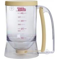 Дозатор для жидкости кондитерский Fackelmann 12*17*18.8см, пластик/силикон (684308)