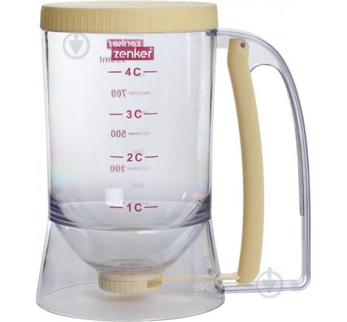 Дозатор для жидкости кондитерский Fackelmann 12*17*18.8см, пластик/силикон (684308) - фото № 1