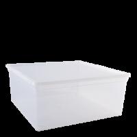 """Контейнер для хранения вещей Алеана """"Евро"""" 17.5л, прозрачный (122047)"""