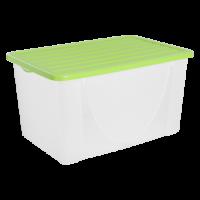 Контейнер для хранения вещей Алеана 40л, оливковый (122044)