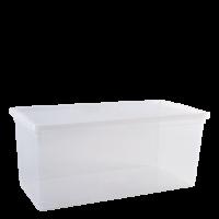 """Контейнер для хранения вещей Алеана """"Евро"""" 8л, прозрачный (122048)"""