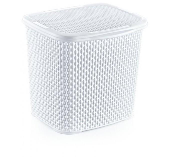 Контейнер для стирального порошка OZ-ER PLastik HONEYCOMB 6.2л, белый (N010-X24) - фото № 1