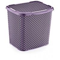 Контейнер для стирального порошка OZ-ER PLastik HONEYCOMB 6.2л, фиолетовый (N010-X88)
